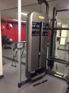 shoulder injury rehab - cable machines